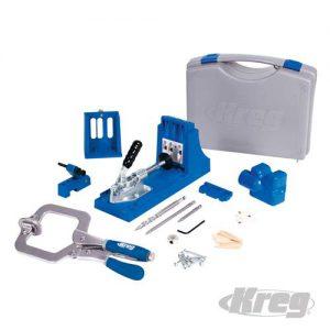 Kreg Jig® boormal set pro (in doos) + Probeerset met 350 Zelftappende torx schroeven