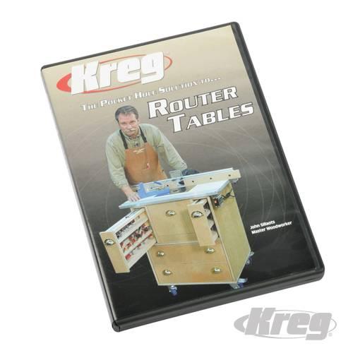 Kreg® doe-het-zelf Dvd Freestafel