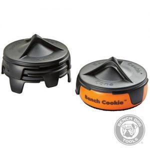 Kegelvormige Bench Cookie® steunen, 4 stuks