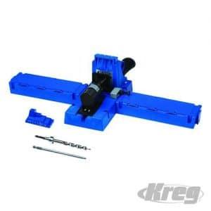 Kreg Jig® K5 boormal set  met Probeerset met 350 Zelftappende torx schroeven