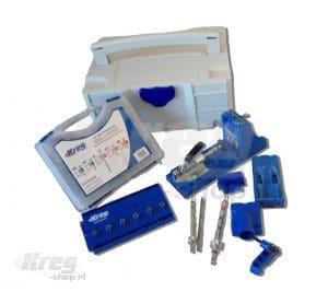 Kreg Jig® boormal set pro Plus in Systainer