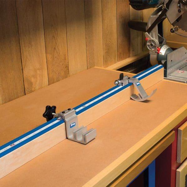 Kreg  8-delige metrische precisie rails en stop set