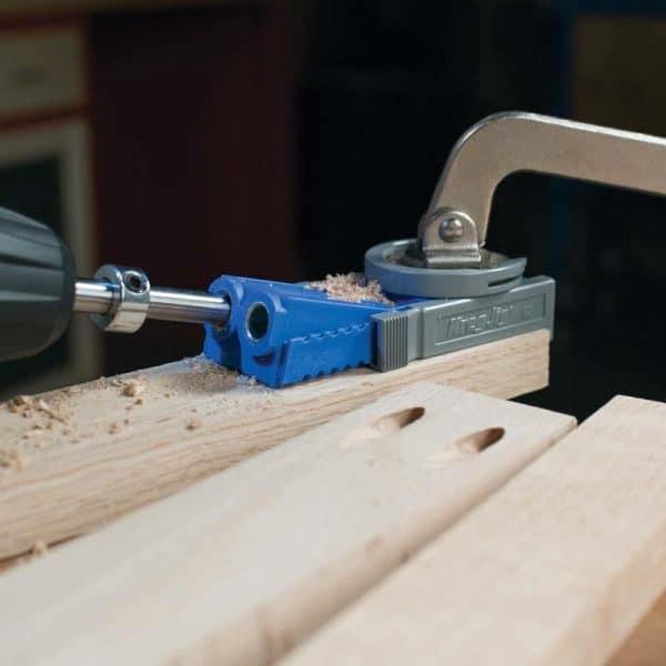 Kreg Jig® JR boormal set voor houtverbinding