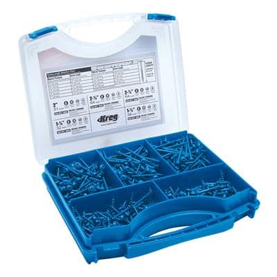 Kreg Pocket-Hole Bluecoated schroevenset (450 stuks)