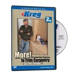 Kreg® doe-het-zelf Dvd Meer Houtbewerking (dubbel DVD)