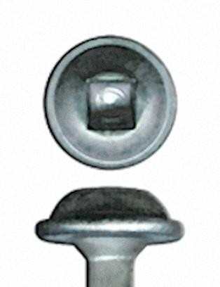 Kreg Schroef zink, grof, sluitringkop (8 x 25 100st)