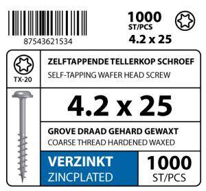 Label-Zelfb-Tellerkop-Schroef