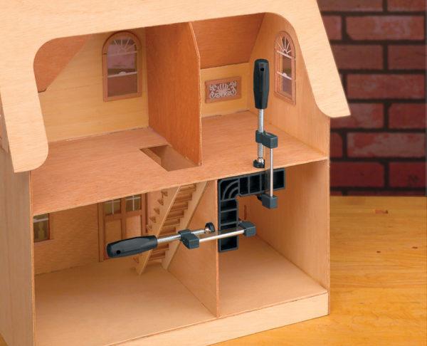 """Rockler Mini Clamp-it® assemblagewinkelhaak 102 x 102 x 32 mm (4"""" x 4"""" x 1-1/4"""")"""