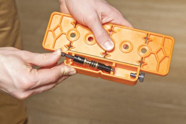 """Rockler Boormal voor schappen 6,35 mm (1/4"""")"""